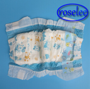 Baby Diaper with Super Absorbency